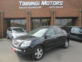 Used 2011 GMC Acadia SLT | AWD | LEATHER | SUNROOF | REAR CAMERA for sale in Mississauga, ON