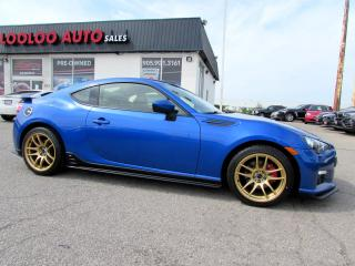 Used 2015 Subaru BRZ AZORA EDITION 6 SPEED MANUAL NAVIGATION CERTIFIED for sale in Milton, ON