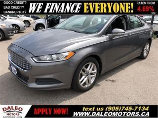 Used 2013 Ford Fusion SE  BLUETOOTH  SAT RADIO CRUISE CONTROL for sale in Hamilton, ON
