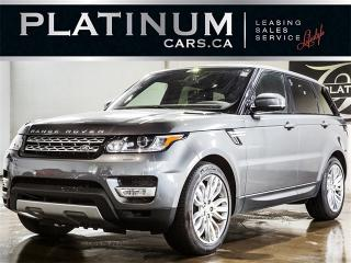 Used 2016 Land Rover Range Rover Sport HSE Td6, NAVI, PANO, CAM, Heated F/R Seats for sale in Toronto, ON