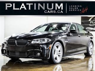 Used 2014 BMW 5 Series 535d xDrive, NAVI, M-Sport CAM, SUNROOF for sale in Toronto, ON