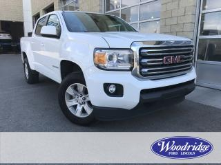 Used 2015 GMC Canyon SLE 3.6L V6, NO ACCIDENTS, REVERSE CAMERA, SATELLITE RADIO, RWD for sale in Calgary, AB