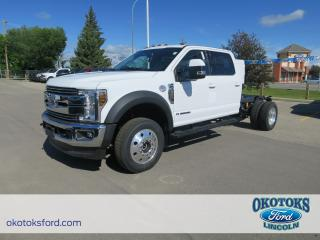 New 2018 Ford F-550 Chassis Lariat 6.7L POWER STROKE V8 DIESEL for sale in Okotoks, AB