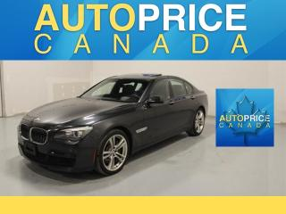 Used 2012 BMW 750i xDrive NAVIGATION|MOONROOF|LEATHER for sale in Mississauga, ON