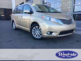 Used 2014 Toyota Sienna XLE 7 Passenger 3.5L V6, DVD, NAVIGATION, AWD, DUAL PANEL SUN ROOF, 7 PASSENGER, for sale in Calgary, AB