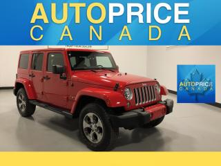 Used 2018 Jeep Wrangler JK Unlimited Sahara NAVIGATION|AUTO| for sale in Mississauga, ON