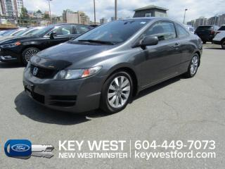 Used 2010 Honda Civic COUPE EX-L Sunroof Leather for sale in New Westminster, BC