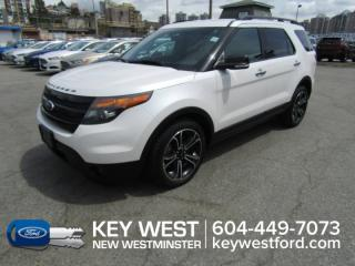 Used 2014 Ford Explorer Sport 4WD  Nav Cam Sync Heated Seats Back-Up Sensors for sale in New Westminster, BC