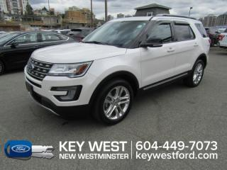 Used 2017 Ford Explorer XLT Sunroof Leather Nav Cam Sync 3 Heated Seats for sale in New Westminster, BC