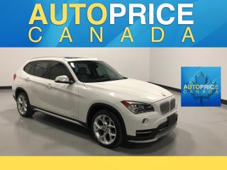 Used 2015 BMW X1 xDrive28i NAVIGATION|PANOROOF|LEATHER for sale in Mississauga, ON