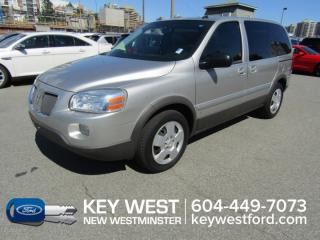 Used 2009 Pontiac Montana Sv6 w/1SA for sale in New Westminster, BC