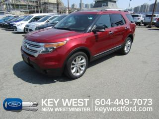 Used 2013 Ford Explorer XLT 4WD Sunroof Leather Nav Cam Sync Tow Pkg for sale in New Westminster, BC