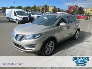 Used 2015 Lincoln MKC Base 2.3l Ecoboost, technology package, panoramic roof, navigation for sale in Okotoks, AB