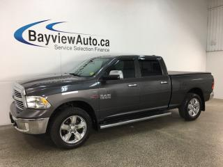 Used 2014 RAM 1500 - ECO DIESEL! REM START! CHROMES! U-CONNECT! TOW/HAUL! for sale in Belleville, ON