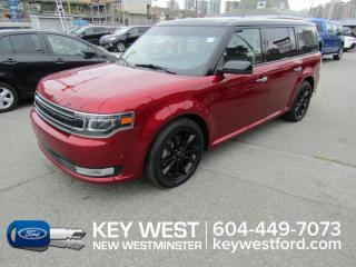 Used 2018 Ford Flex Limited EcoBoost AWD Sunroof Leather Nav Cam Sync 3 for sale in New Westminster, BC