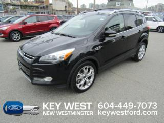 Used 2013 Ford Escape Titanium 4WD Sunroof Leather Nav Sync MyFord Touch for sale in New Westminster, BC