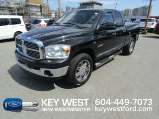 Used 2008 Dodge Ram 1500 SLT 4x4 Quad Cab 140wb Heated Seats for sale in New Westminster, BC