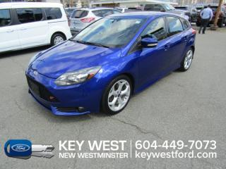Used 2014 Ford Focus ST Hatchback Sunroof Leather Nav Cam Heated Seats for sale in New Westminster, BC