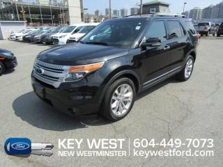 Used 2014 Ford Explorer XLT 4WD Sunroof Leather Nav Cam Sync Tow Pkg for sale in New Westminster, BC