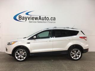 Used 2015 Ford Escape Titanium - ECOBOOST! PANOROOF! APA! BLIS! SONY! SYNC! for sale in Belleville, ON