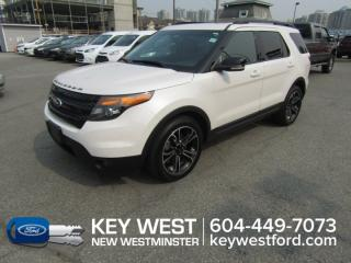 Used 2015 Ford Explorer Sport 4WD Sunroof Leather Nav Cam Sync for sale in New Westminster, BC