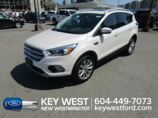 Used 2018 Ford Escape Titanium 4WD Sunroof Leather Nav Cam Sync 3 for sale in New Westminster, BC
