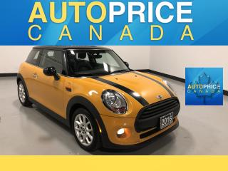 Used 2016 MINI 3 Door Cooper AUTO|PANOROOF|LEATHER for sale in Mississauga, ON