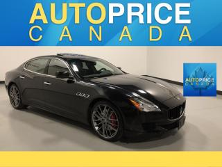 Used 2015 Maserati Quattroporte S Q4 NAVIGATION|REAR CAM|LEATHER for sale in Mississauga, ON