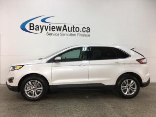 Used 2017 Ford Edge SEL - KEYPAD! REM START! PANOROOF! HTD LTHR! NAV! WIFI! SYNC! for sale in Belleville, ON