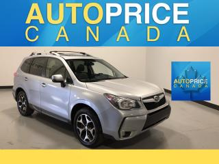 Used 2014 Subaru Forester 2.0XT Limited Package MOONROOF|LEATHER|HEATED SEATS for sale in Mississauga, ON