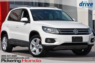 Used 2013 Volkswagen Tiguan 2.0 TSI Comfortline Premium Synthetic Seats Heated Seats Bluetooth for sale in Pickering, ON