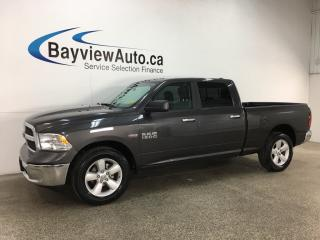 Used 2018 RAM 1500 SLT - HEMI! ALLOYS! TOW/HAUL! U-CONNECT! PWR GROUP! for sale in Belleville, ON