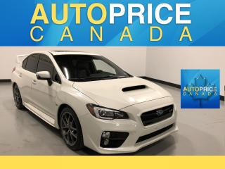 Used 2017 Subaru WRX STI Sport-tech MOONROOF|NAVIGATION|LEATHER for sale in Mississauga, ON
