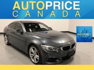 Used 2015 BMW 435i xDrive Gran Coupe M-SPORT|NAVIGATION|MOONROOF for sale in Mississauga, ON
