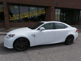 Used 2015 Lexus IS 350 F-SPORT for sale in Woodbridge, ON