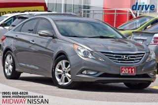 Used 2011 Hyundai Sonata Limited - Bluetooth|Leather|Sunroof for sale in Whitby, ON