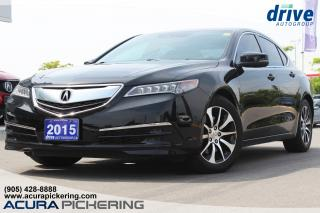 Used 2015 Acura TLX Tech Navigation Leather Upholstery Bluetooth for sale in Pickering, ON