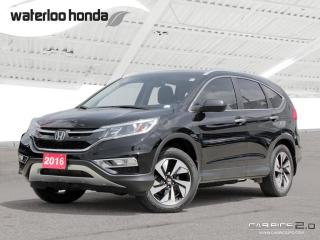 Used 2016 Honda CR-V Touring Bluetooth, Back Up Camera, Navigation, and More! for sale in Waterloo, ON