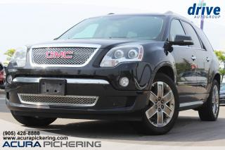 Used 2011 GMC Acadia Denali Navigation|Leather Upholstery|Rearview Camera for sale in Pickering, ON
