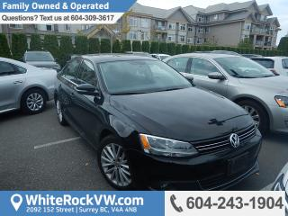 Used 2012 Volkswagen Jetta 2.0 TDI Highline BC Driven, Heated Front Seats, Remote Keyless Entry & Radio Data System for sale in Surrey, BC