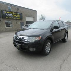 Used 2010 Ford Edge Limited LIMITED, AWD, LEATHER, PANORAMIC SUNROOF, BLACK ON BLACK. for sale in Newmarket, ON