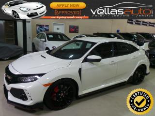 Used 2018 Honda CIVIC TYPE R TYPE R| ONLY 131KM| WHITE for sale in Woodbridge, ON