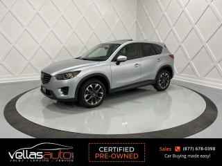Used 2016 Mazda CX-5 GT| AWD| NAVI| SUNROOF| LTHR for sale in Vaughan, ON