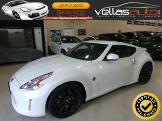 Used 2016 Nissan 370Z COUPE| 6SPEED| LEATHER| 2,319KM for sale in Woodbridge, ON