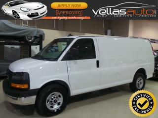 Used 2018 GMC Savana 2500 SHORT WHEEL BASE| 6.0L V8| R/CAMERA for sale in Vaughan, ON