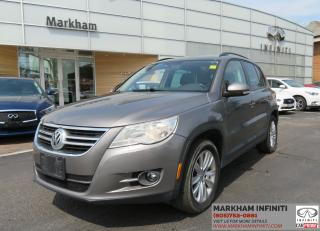 Used 2009 Volkswagen Tiguan 2.0T Trendline ASIS Super Saver for sale in Unionville, ON