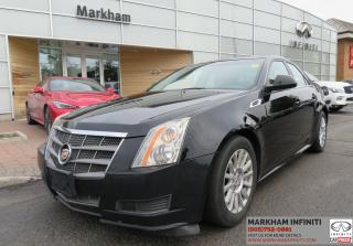 Used 2010 Cadillac CTS 3.0L ASIS Super Saver , Manual Transmission for sale in Unionville, ON