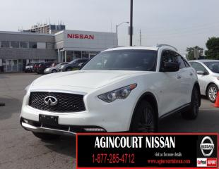 Used 2017 Infiniti QX70 LIMITED PCKG|AWD|NAVI|360 CAMERA|21 INCH WHEELS| for sale in Scarborough, ON