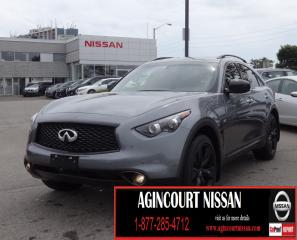 Used 2017 Infiniti QX70 Sport |AWD|NAVI|LEATHER|PADDLE SHIFTER| for sale in Scarborough, ON