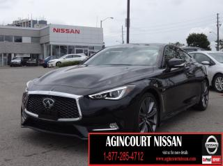 Used 2018 Infiniti Q60 3.0t Red Sport 400 COUPE|AWD|NAVI|PADDLE SHIFTER|LANE DEPARTURE WARNING|BLIND SPOT| for sale in Scarborough, ON